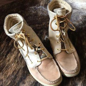 Sperry tip slider boots